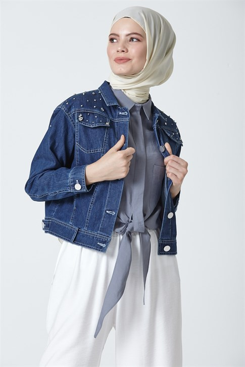 Armine Denim Jacket Indigo 9Y5709