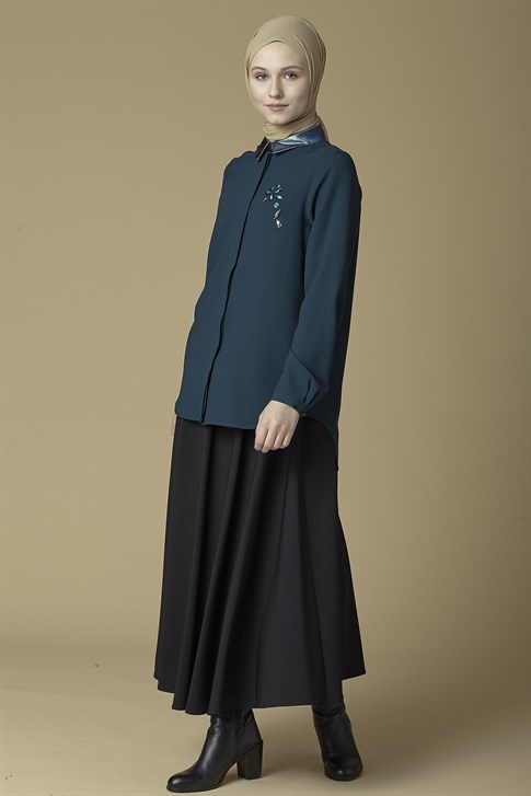 Armine Shirt Emerald 9K3744