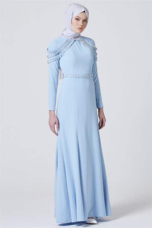 Armine Evening Dress Baby Blue 7yd1623