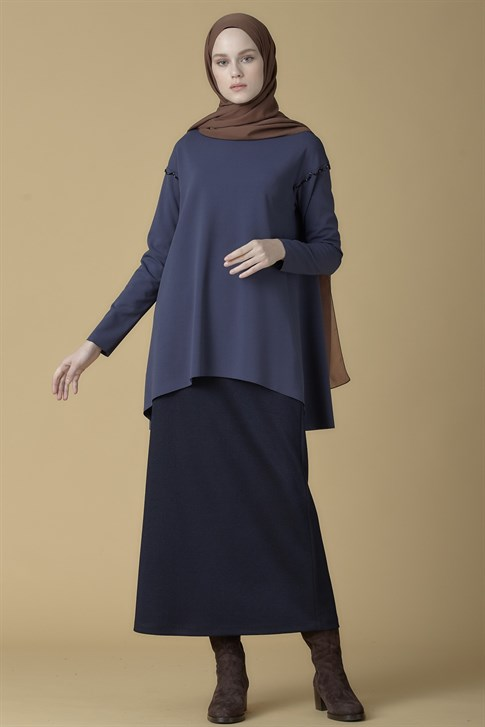 Armine Skirt Navy Blue 9K1812