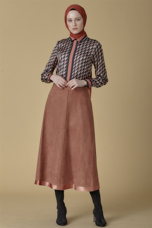 Armine Skirt Rose 9K1850