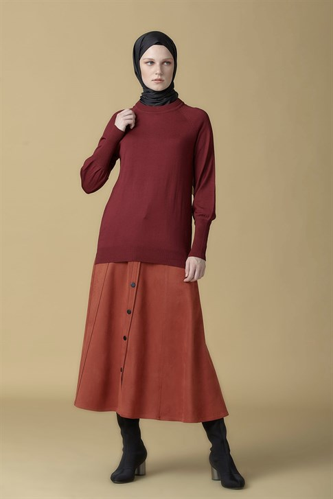 Armine Knitwear Sweater Plum 9K2002