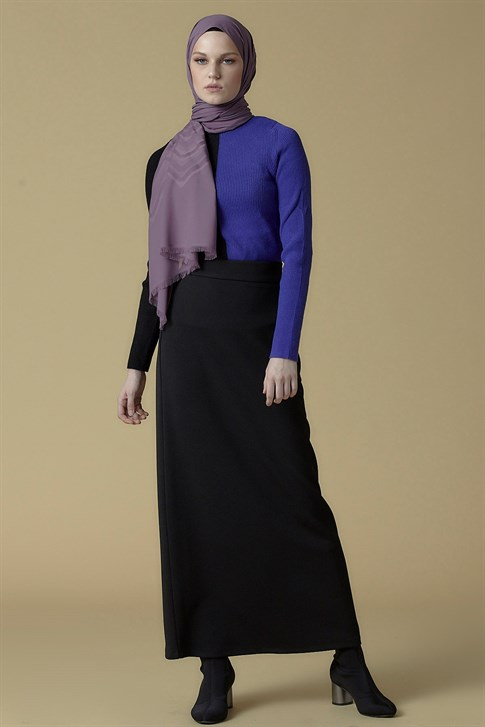 Armine Knitwear Sweater Black Purple 9K2010