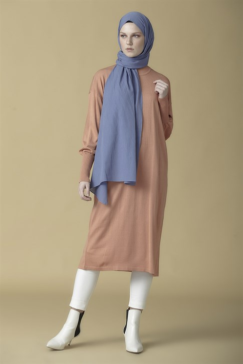 Armine Knitwear Tunic Light Pink 9K2007