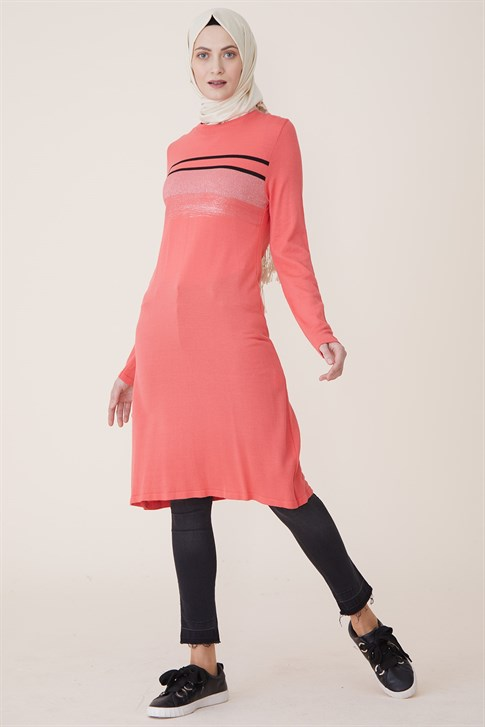 Armine Knitwear Tunic Pomegranate 9Y2014