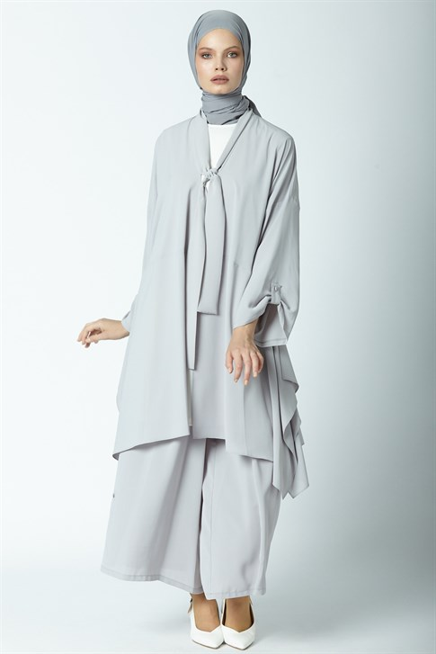 Armine Triple Suit Gray Blue 9Y6783
