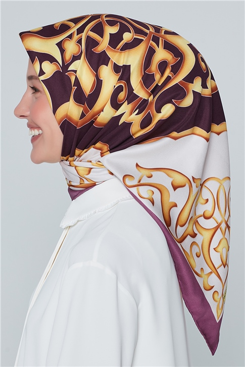 RAYON POLYESTER SCARF 12067P (T)