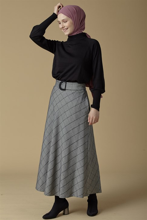 Armine Skirt Gray 9K1865