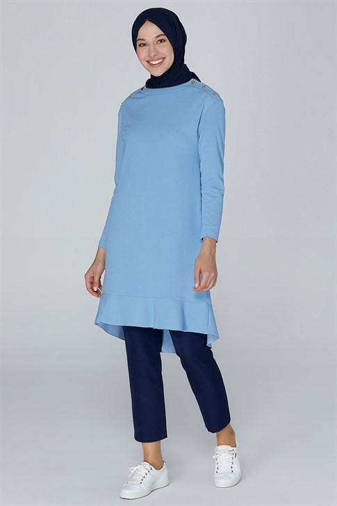Armine sportyts Tunic Gray Blue 9K4829