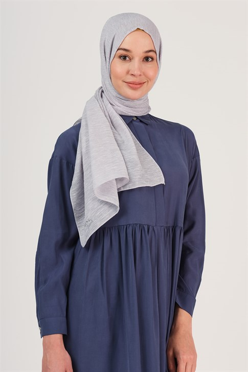 Armine Trend Sparkly Buse Shawl Gray