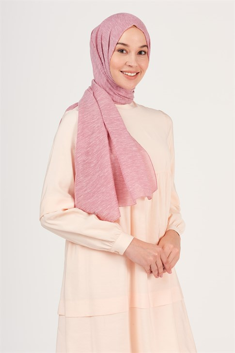 Armine Trend Sparkly Buse Shawl Dusty Rose