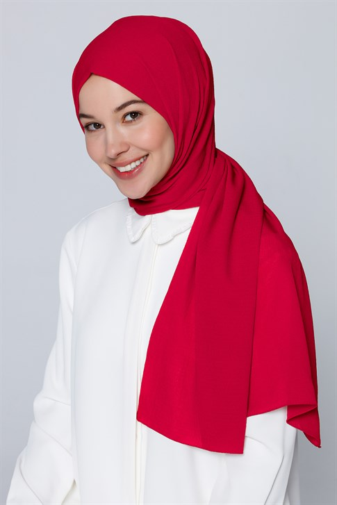 Armine Trend Muffin Shawl Red